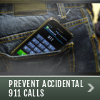 Prevent Accidental 911 Calls