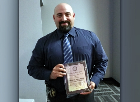 Fresno Rotary Recognizes FSO Detective John Capriola for his
