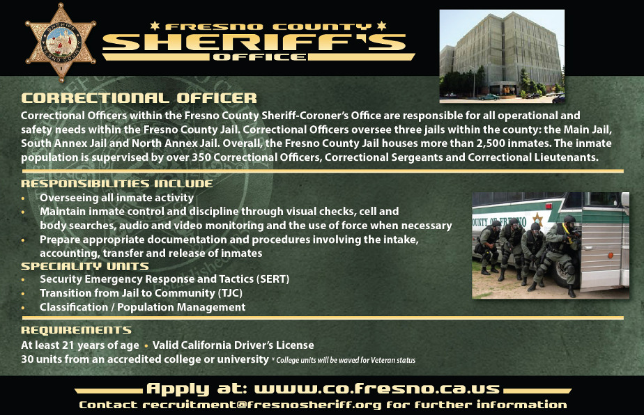 correctional officers responsibilities